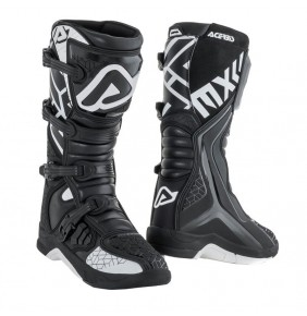 Botas Acerbis X-Team Boots Black / White 2020