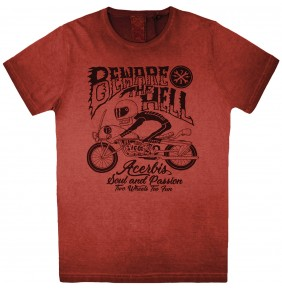 Camiseta Acerbis Hell Red 2019