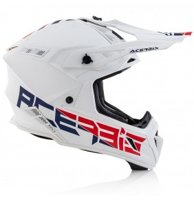 Casco Acerbis Steel Carbon White 2020