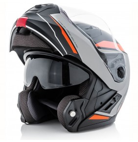 Casco Acerbis Derwel Black / Orange