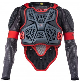 Peto Integral Acerbis Galaxy Grey / Black 2020