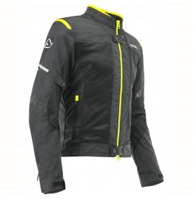 Chaqueta Verano Acerbis CE Ramsey My Vented 2.0 Jacket Black / Yellow Fluo