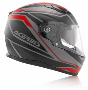 Casco Acerbis Full Face X-Street FS-816 Red / Black