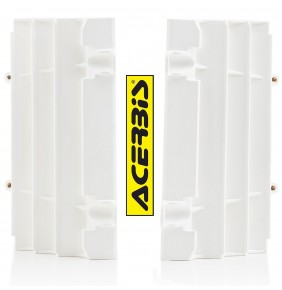 Protectores de Radiador Acerbis KTM EXC / EXC-F 2020 - KTM SX / SX-F 2019-2020 Blancos