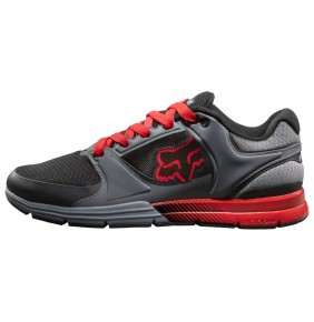 Zapatillas Fox Motion Concept Charcoal / Red