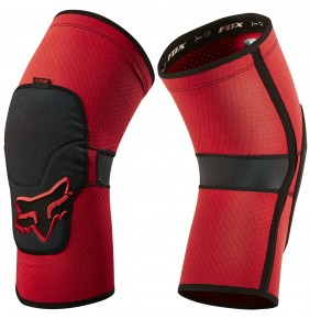 Rodilleras Fox Launch Enduro Knee Pad Red