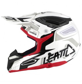 Casco Leatt GPX 5.5 Composite White / Black / Red