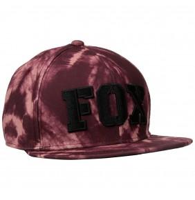 Gorra Chica Fox Free Fallin Baseball Merlot