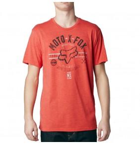 Camiseta Fox Clockspeed Heather Blood Orange