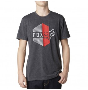 Camiseta Fox Walled Heather Black