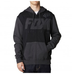 Sudadera Fox Clutch Zip Fleece Black
