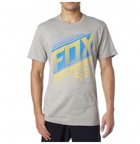 Camiseta FOX Static Heather Grey
