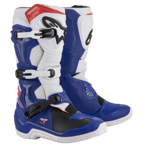 Botas Alpinestars Tech 3 Blue / White / Red