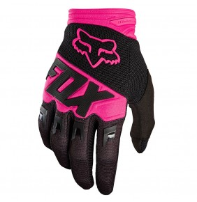 Guantes Niño FOX Dirtpaw Race Black Pink 2018