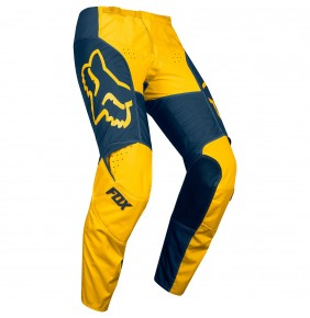 Pantalón Fox 180 Przm Navy / Yellow 2019