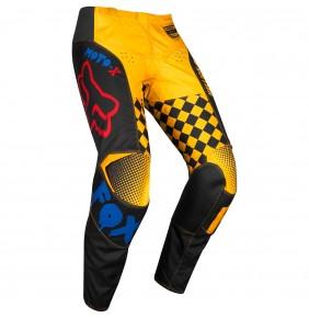 Pantalón Fox 180 Czar Black / Yellow