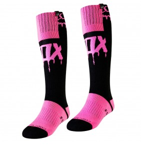 Calcetines FOX Women MX Mata Drip Black / Pink 2019