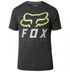 Camiseta Fox Heritage Forger Tech Tee Black / Green
