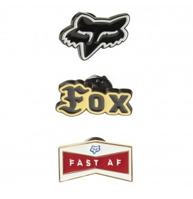 Pack de Pins Fox Logo
