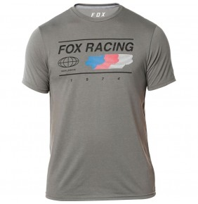 Camiseta Fox Global Tech Tee Graphite