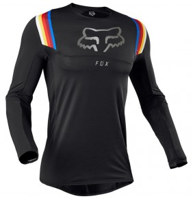 Camiseta FOX Flexair Vlar Black 2020