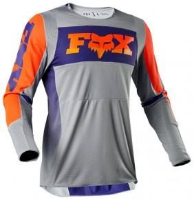 Camiseta FOX 360 Linc Grey / Orange 2020