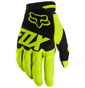 Guantes Niño FOX Dirtpaw Race Fluo Yellow 2020