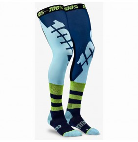 Calcetines 100% REV Knee Brace Performance Navy