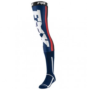 Calcetines FOX Linc Knee Brace Socks Navy / Red 2020