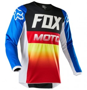Camiseta Niño FOX 180 Fyce Blue / Red 2020