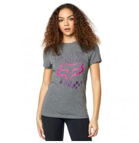 Camiseta Chica Fox Richter Tee Heather Graphite
