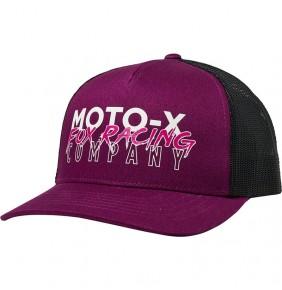 Gorra Chica Fox Rampage Trucker Hat Dark Purple