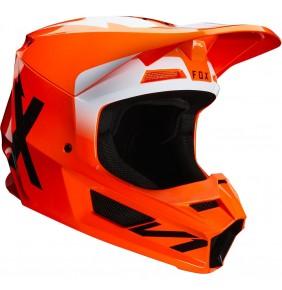 Casco FOX V1 Werd Fluo Orange 2020