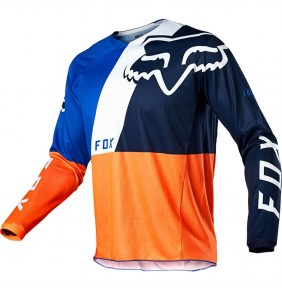 Camiseta FOX 180 LOVL Orange / Blue Limited Edition 2020
