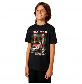Camiseta Niño Fox Youth Cypher Black
