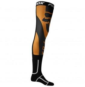 Calcetines FOX Mirer Knee Brace Sock Tortoise / Bronze
