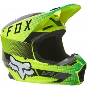 Casco FOX V1 Ridl Fluo Yellow 2022