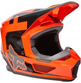 Casco Niño FOX V1 Dier Fluo Orange 2022