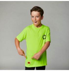 Camiseta Niño Fox Youth Nobyl Tee Fluo Yellow