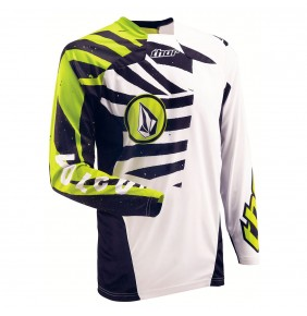 Camiseta Thor Core Volcom White / Green