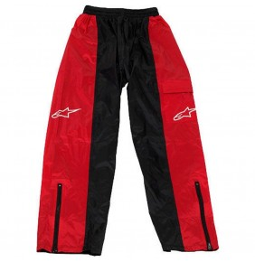 Pantalón Impermeable Alpinestars RP-5 Black Red