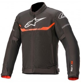 Chaqueta Ventilada Alpinestars T-SPS Air Jacket Black / Red Fluo