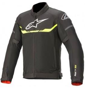 Chaqueta Ventilada Alpinestars T-SPS Air Jacket Black / Yellow Fluo