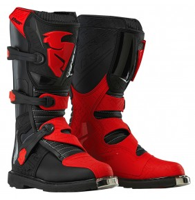 Botas Niño Thor Blitz Black Red