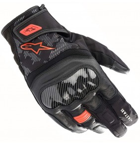 Guantes Alpinestars SMX Z Drystar® Black / Red Fluo