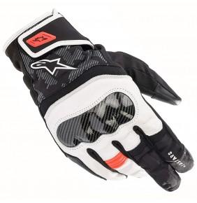 Guantes Alpinestars SMX Z Drystar® Black White / Red Fluo
