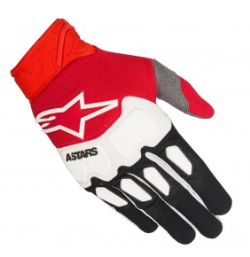Guantes Alpinestars Racefend Black Red White 2018