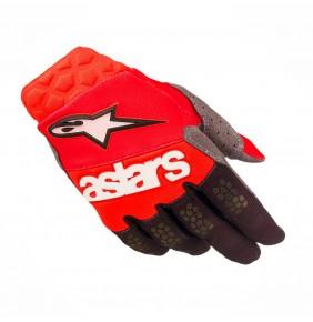 Guantes Alpinestars Racefend Red Black 2019