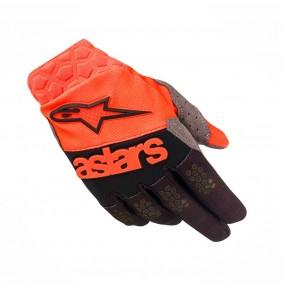 Guantes Alpinestars Racefend Orange Fluo Black 2019