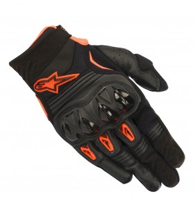Guantes Alpinestars Megawatt Black Orange